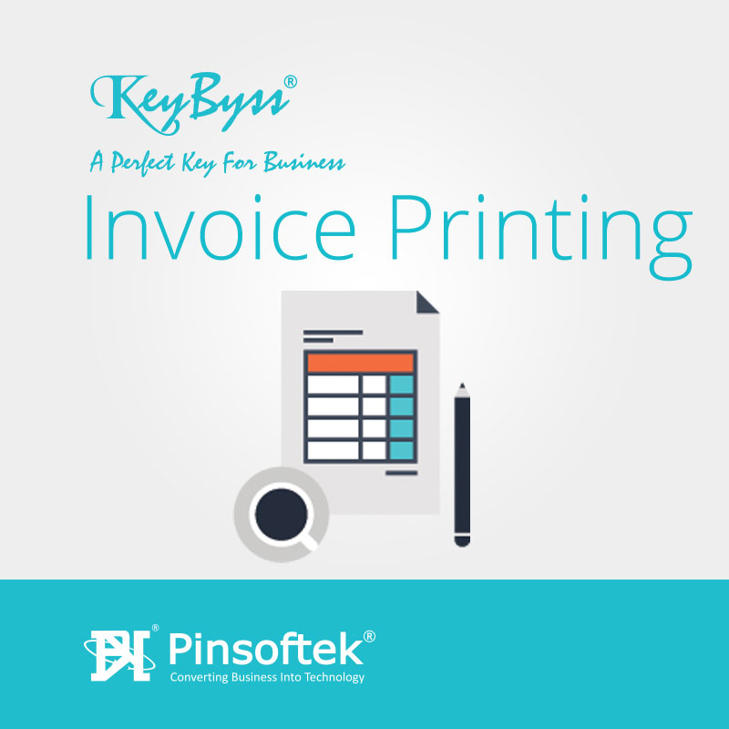 GST Invoice Printing Software