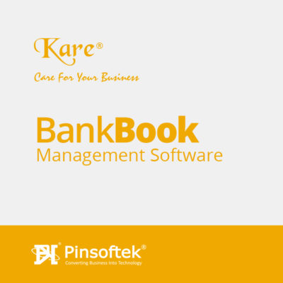 Bank Book Management Software